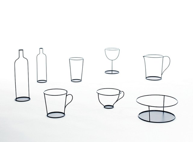 Small black vases by Nendo for David Design | Yellowtrace.