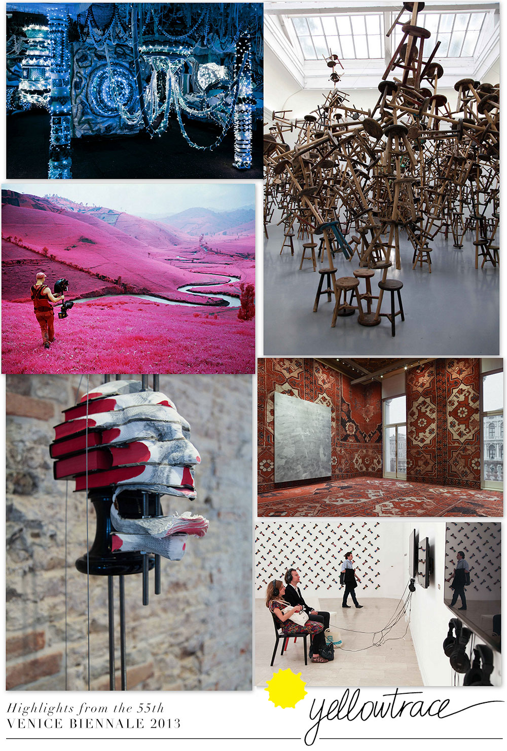 Highlights From The 55th Venice Biennale 2013.