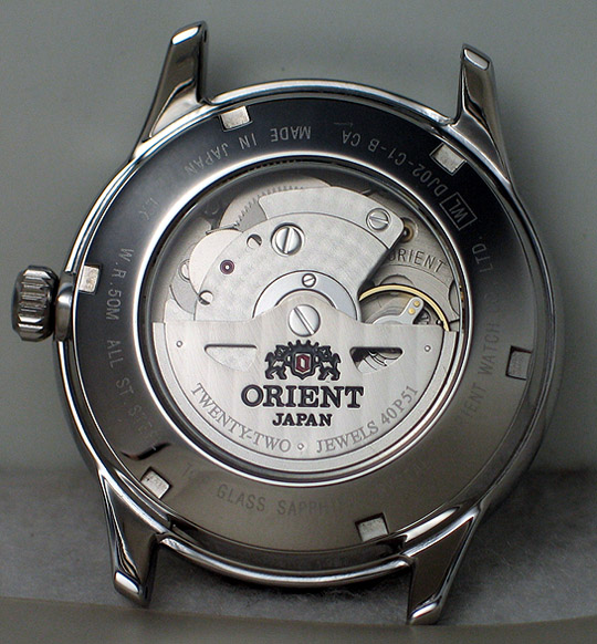 Orient GMT with hack and handwind - DJ02003W (3/6)