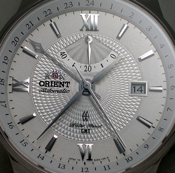 Orient GMT with hack and handwind - DJ02003W (2/6)