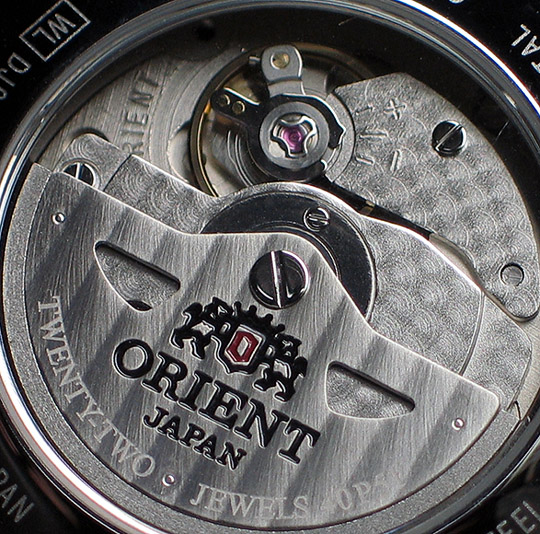 Orient GMT with hack and handwind - DJ02003W (4/6)