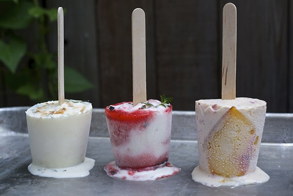 Yogurth Mini Popsicles ~ Yes, more Please!