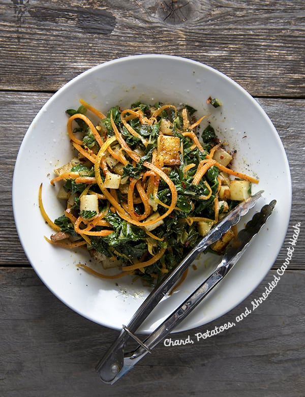 Chard, Potatoes, and Shredded Carrot hash_Vegetable-Taco-Filling_Yes,-more-please! copy