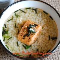 Salmon Chazuke: Oolong Tea with Rice