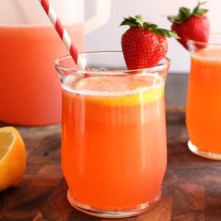 Sparkling Strawberry-Basil Lemonade | Yes to Yolks