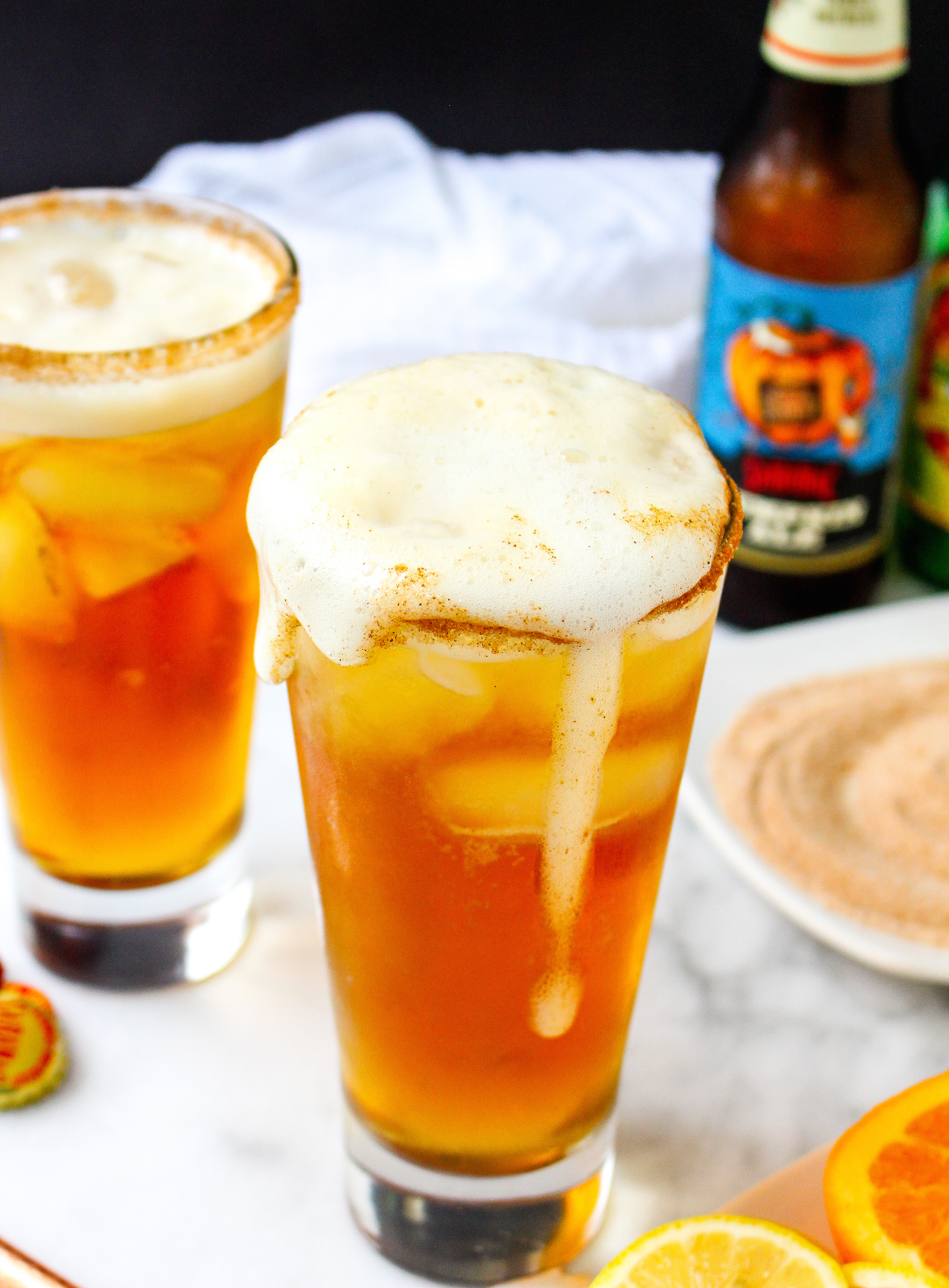 Gingered Pumpkin Beer Shandy