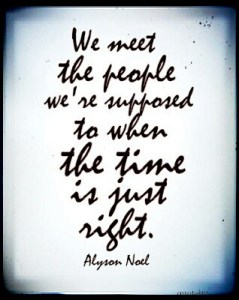 The People We Meet