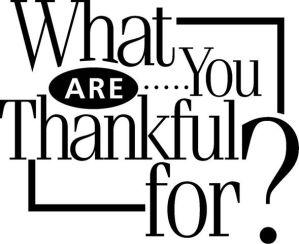 I Am Thankful For Honesty