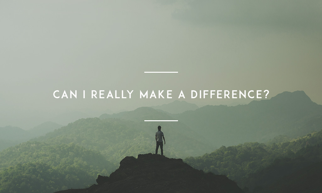 Can I Really Make A Difference      YMI Can I Really Make A Difference