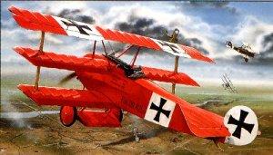 El Fokker DR I del Barón Rojo.