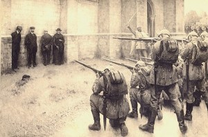 L'exécution des notables de Blégny, 1914 (por_Evariste_Carpentier)