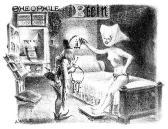 Adolf-Willette_pseudo-medieval_chastity-belt_trade-card_Theophile-Bein