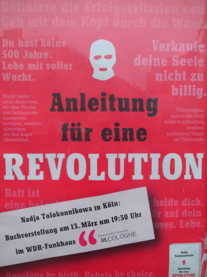 Die sanfte Revolution – Meine Begegnung mit Pussy Riot Aktivistin Nadeschda Tolokonnikowa