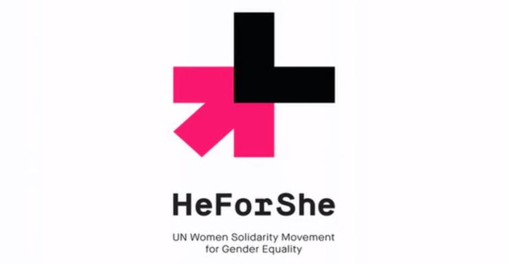 he for she - Männer bekennen sich zu Gleichberechtigung zwischen Mann & Frau!