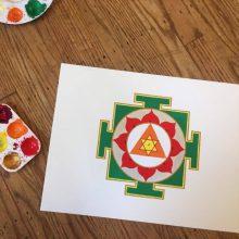 Meditation auf Papier 2 - YANTRA MALEN