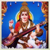 Musengöttin Sarasvati fördert deine Kreativität und Lernfähigkeit
