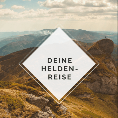 """2018 zum Jahr deiner """"Heldenreise"""" machen mit dem yoga-diary.de Buch SPIRITUELLE HELDENREISE"""