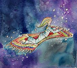 Mira's story magic carpet