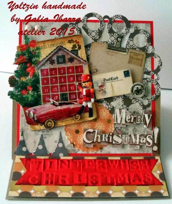 Tarjeta de Navidad, Christmas card, Kerstkaartje