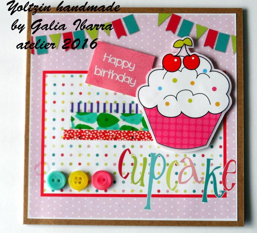 Birthday card - Tarjeta de cumpleaños - Verjaardagskaartje