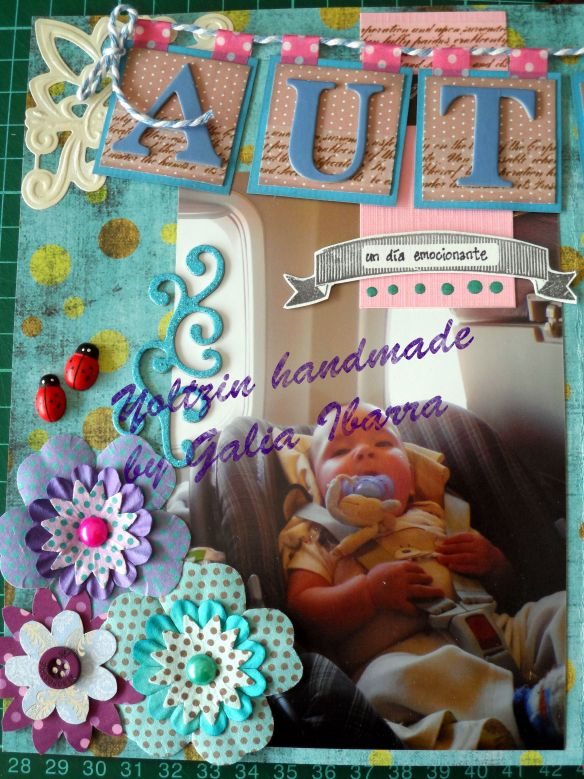 Yoltzin handmade - art journal - autism