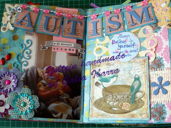 Autism - Yoltzin handmade - mi vida en scrap