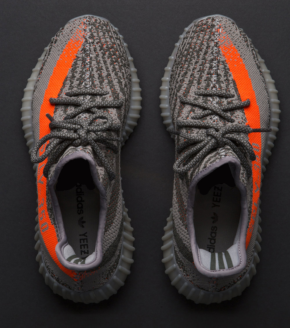 Yeezy Boost 350 V2 Black With Brown Stripe
