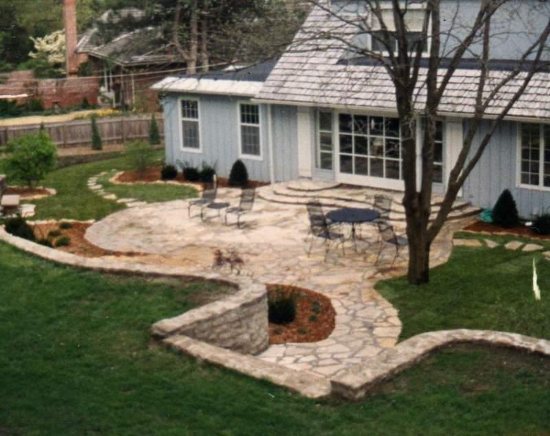 Large Of Backyard Living Area