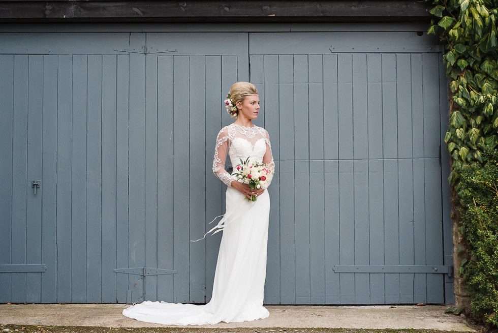 Katie in another stunning Sugared Almonds Bridal Wear Gown.