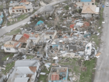 Caribbean Home After Hurricane