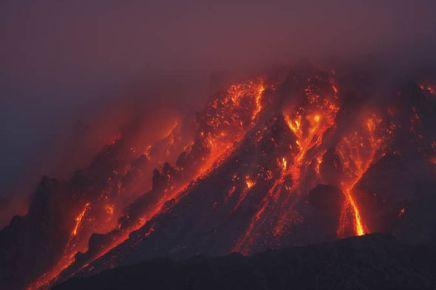 Montserrat Volcano Eruption