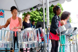 Popup Carnival Steel Bands