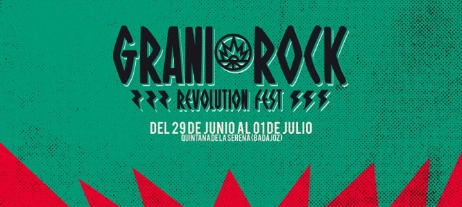 Primeras confirmaciones del GraniRock Revolution Fest 2017