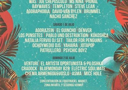 El Festival Sunshine Suances anuncia sus horarios