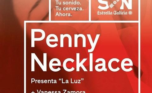 """Penny Necklace presentará """"La Luz"""", el jueves 28 de septiembre en la sala El Sol."""