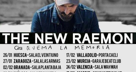 Gira THE NEW RAEMON: Quema la Memoria