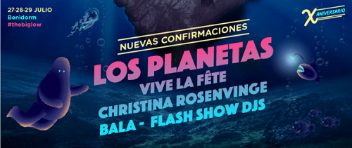 LOS PLANETAS encabezan las nuevas confirmaciones del LOW FESTIVAL 2018