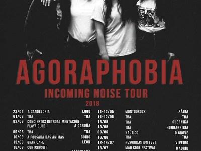 "AGORAPHOBIA vuelve a Madrid con ""Incoming Noise""."