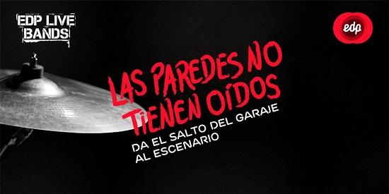 EDP Live Bands España, concurso de bandas.
