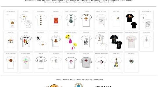 HARD ROCK CAFE MADRID y el CSDMM organizan un concurso para elegir la próxima camiseta de HARD ROCK CAFE MADRID.