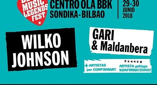 WILKO JOHNSON y GARI & Maldanbera, nuevas confirmaciones del BBK MUSIC LEGENDS FESTIVAL.