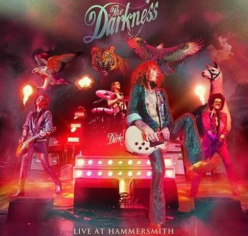 THE DARKNESS anuncian disco en directo y dos nuevos temas.