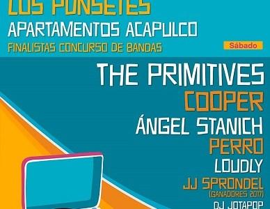 La banda británica THE PRIMITIVES se suman al PULPOP Festival 2018.