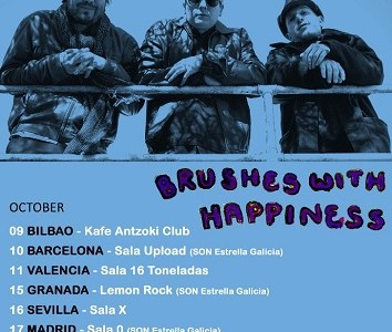 "THE WAVE PICTURES, de gira en octubre con ""Brushes With Happiness""."
