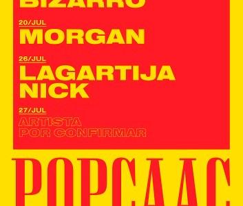 Triángulo de Amor Bizarro, Morgan y Lagartija Nick actuarán en Sevilla en julio en el POP CAAC.