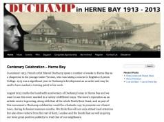 duchamp-hbay-site-screenshot
