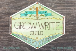 Grow Write Guild - Year One