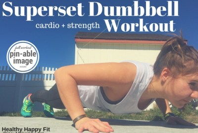 Superset Dumbbell Workout