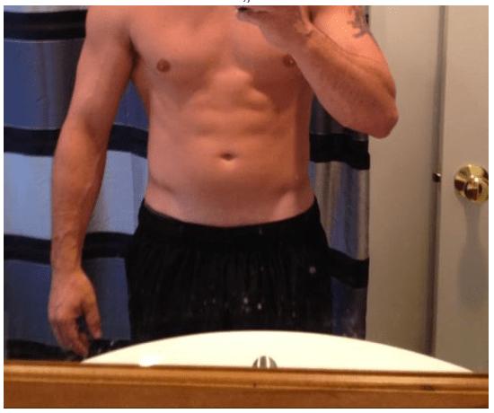 men selfies blurred face
