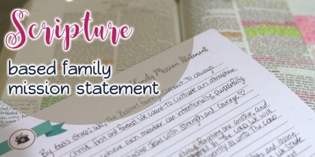 Creating Your Own Family Mission Statement